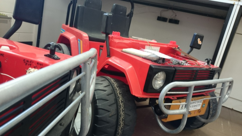 Introducing the Oversize RC Car Project